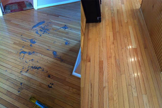 A case study of hardwood floor cleaning wood floor for Wood floor maintenance
