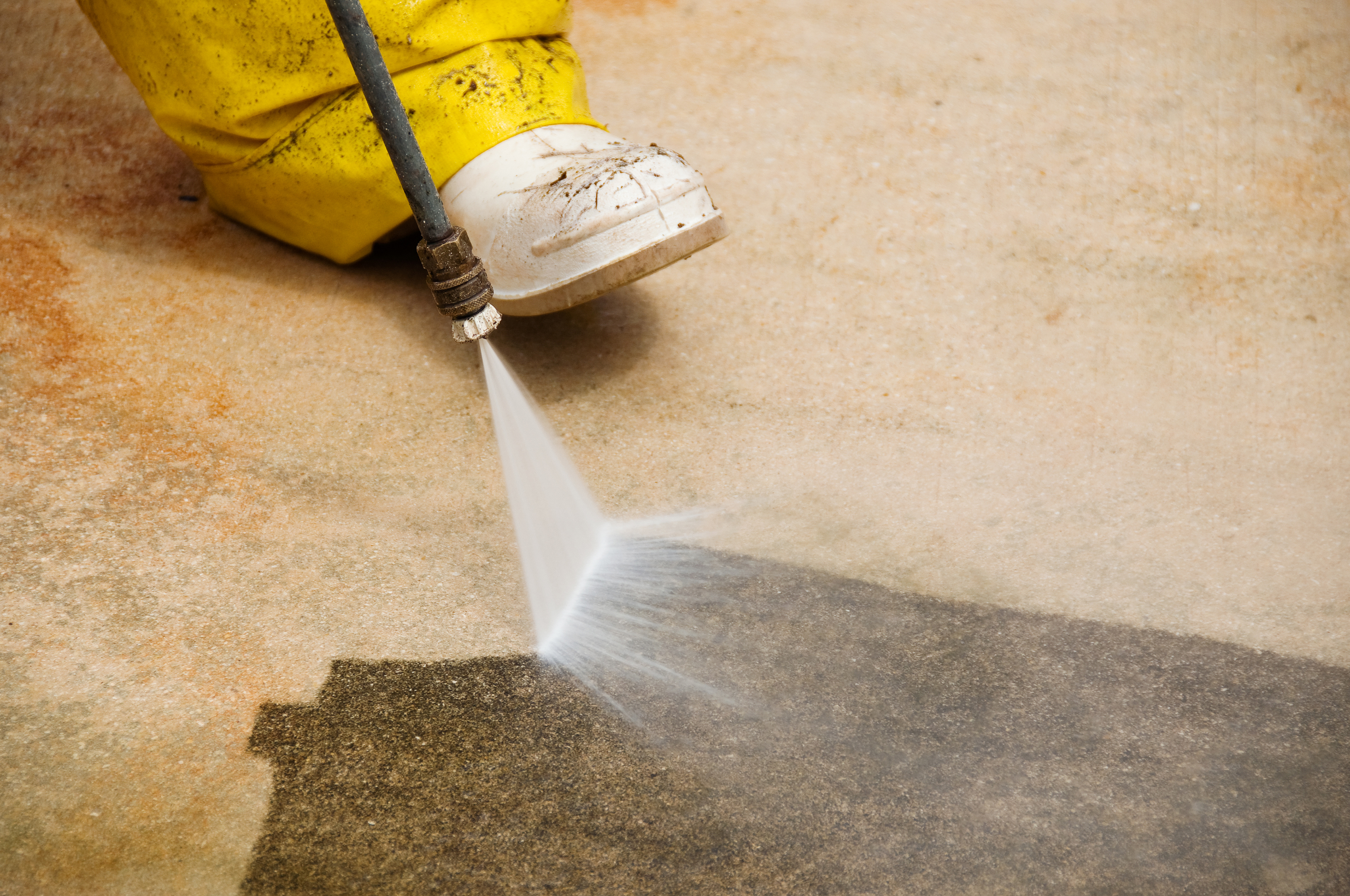 Hanover pa pressure washing power washing services for Cement driveway cleaner
